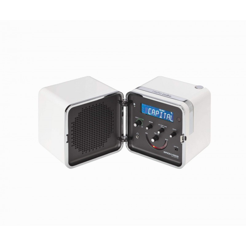 radio.cubo ts522D+S - White Snow