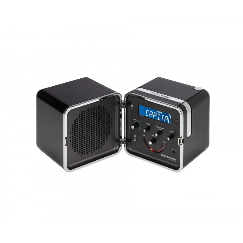 radio.cubo ts522D+S - Black Night